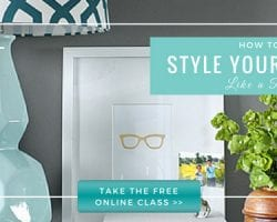 Free Online Class: How to Style Your Decor Like a Pro