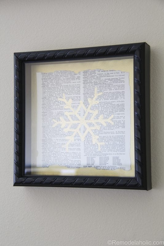 Christmas gallery wall @remodelaholic (6 of 10)