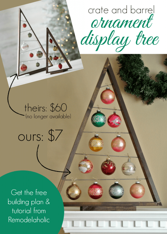 DIY-Crate-and-Barrel-Ornament-Display-Tree-@Remodelaholic-knockoff-Christmas-571x800