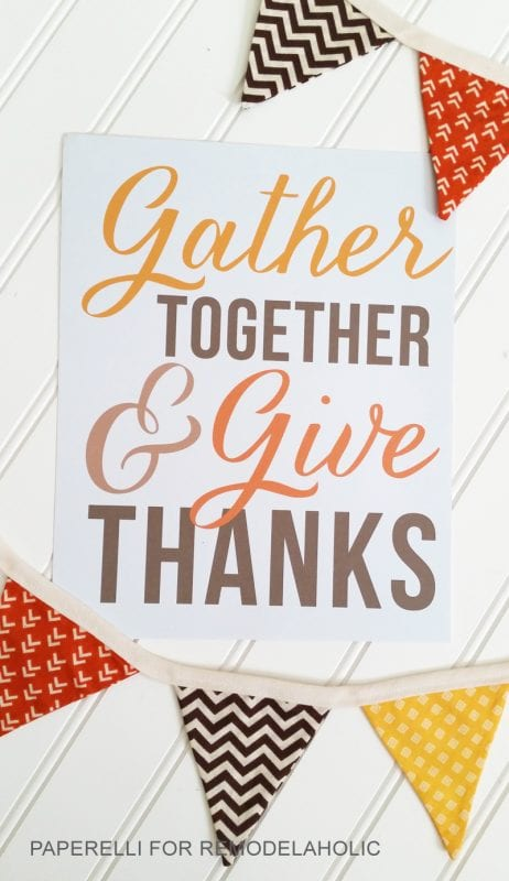 photograph relating to Give Thanks Printable named Collect Alongside one another and Offer Owing\u201d Thanksgiving Printable