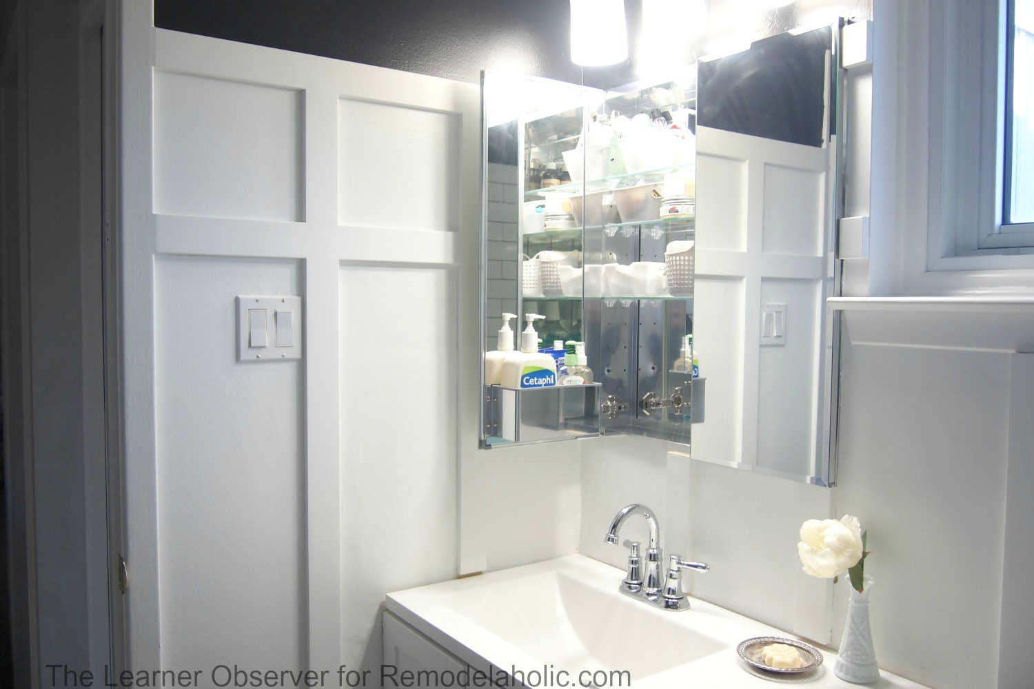 The Learner Observer For Remodelaholic.com   Built In Medicine Cabinet