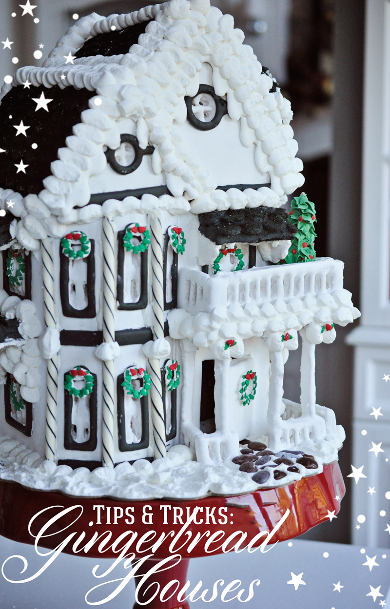 tips and tricks for beautiful gingerbread houses - Gingerbread Christmas Decorations Beautiful To Look
