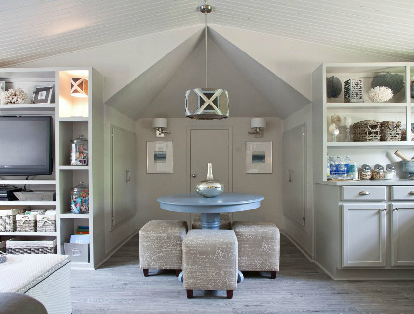 Using the same paint undertone throughout a home. Remodelaholic