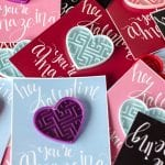 Lemon Thistle A-Maze-Ing Free Printable Valentine's Day Cards