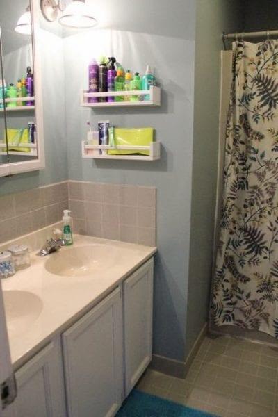 bekvam spice rack bathroom organizer