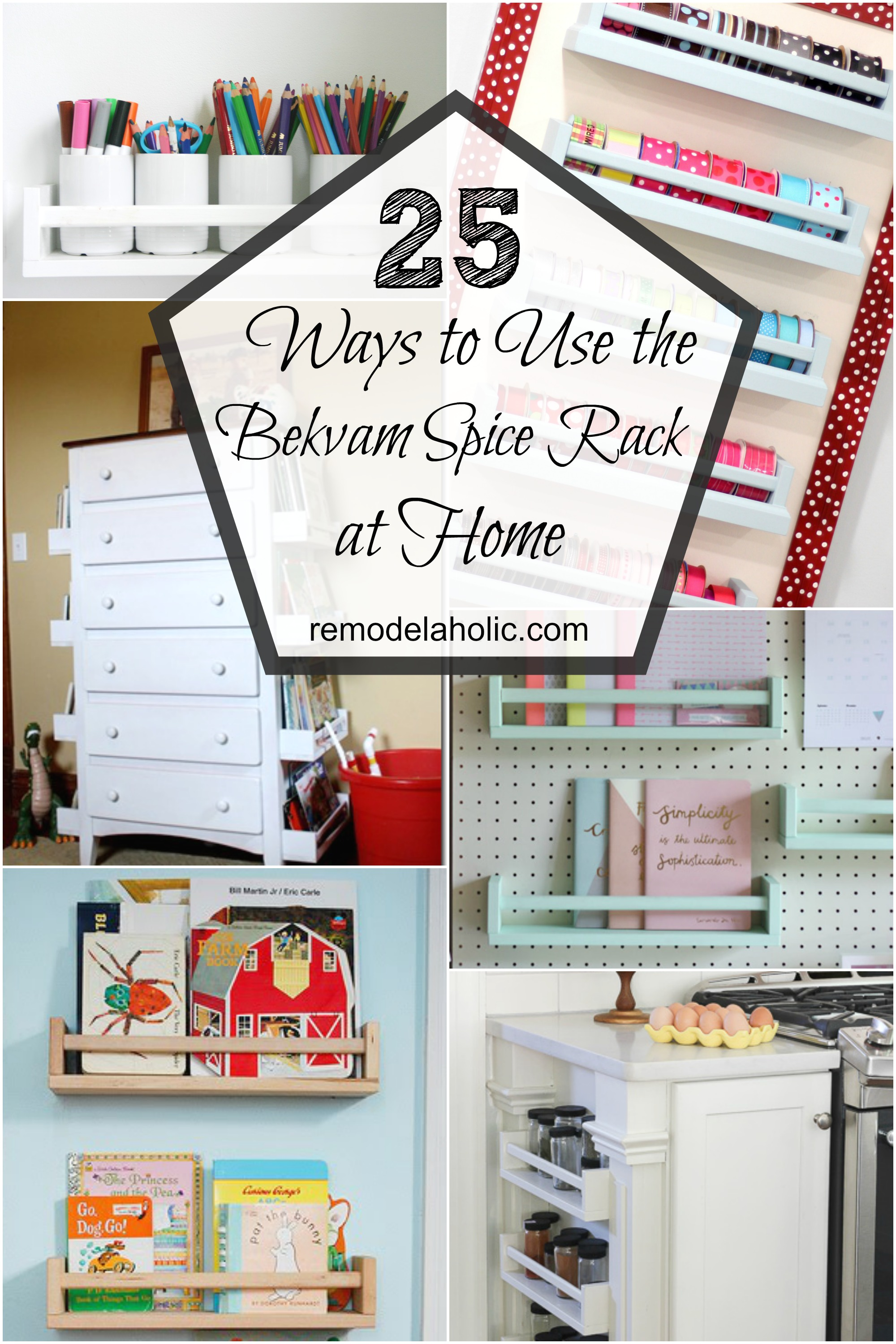Remodelaholic 25 Ways To Use Ikea Bekvam Spice Racks At Home