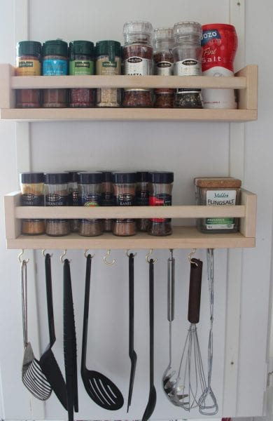 bekvam spice rack kitchen utensil holder