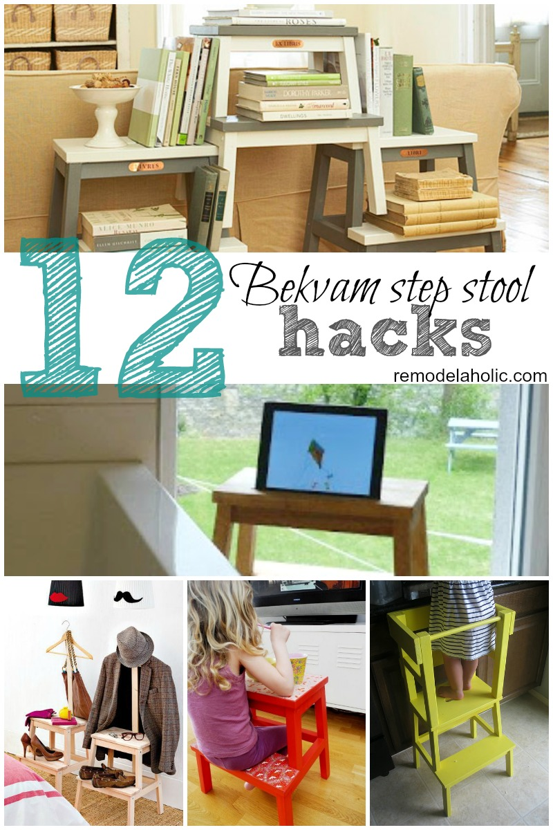 Pleasing 12 Ikea Bekvam Step Stool Hacks Remodelaholic Bloglovin Bralicious Painted Fabric Chair Ideas Braliciousco
