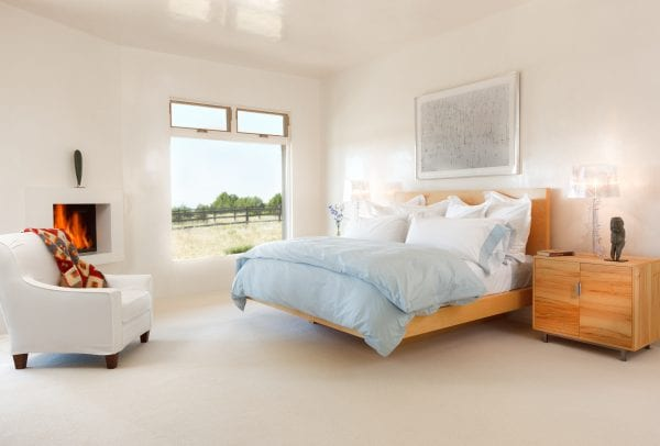 modern beautiful master bedroom | by Violante & Rochford Interiors, photo credit © Wendy McEahern