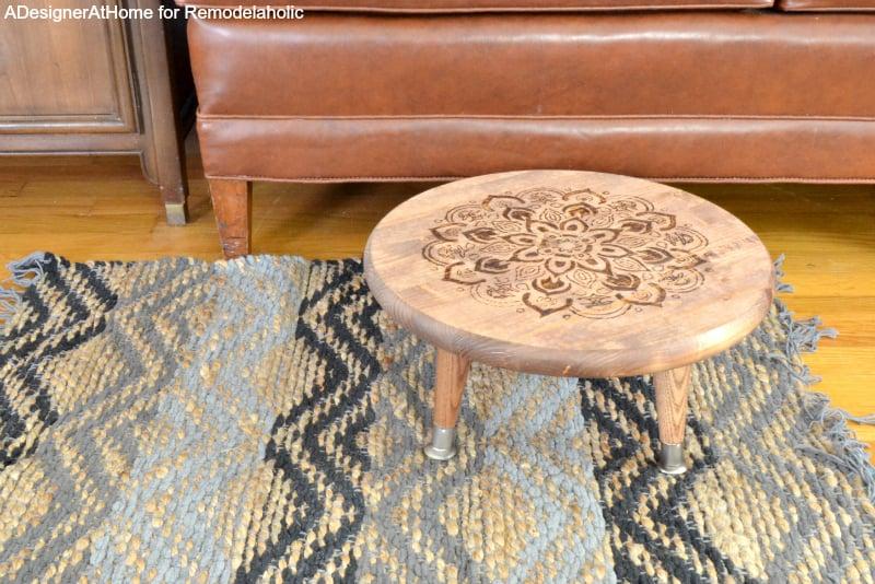 diy-foot-stool-premade-home-improvement-store-pieces-easy-wood-burned-mandala-design