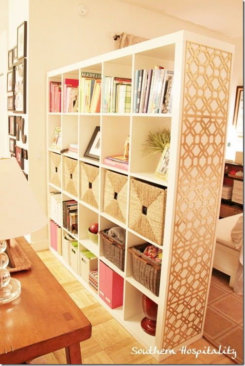 Expedit Room Divider Open Cube Shelving