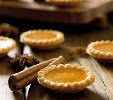 Gluten-Free Pumpkin Pie Tartlets