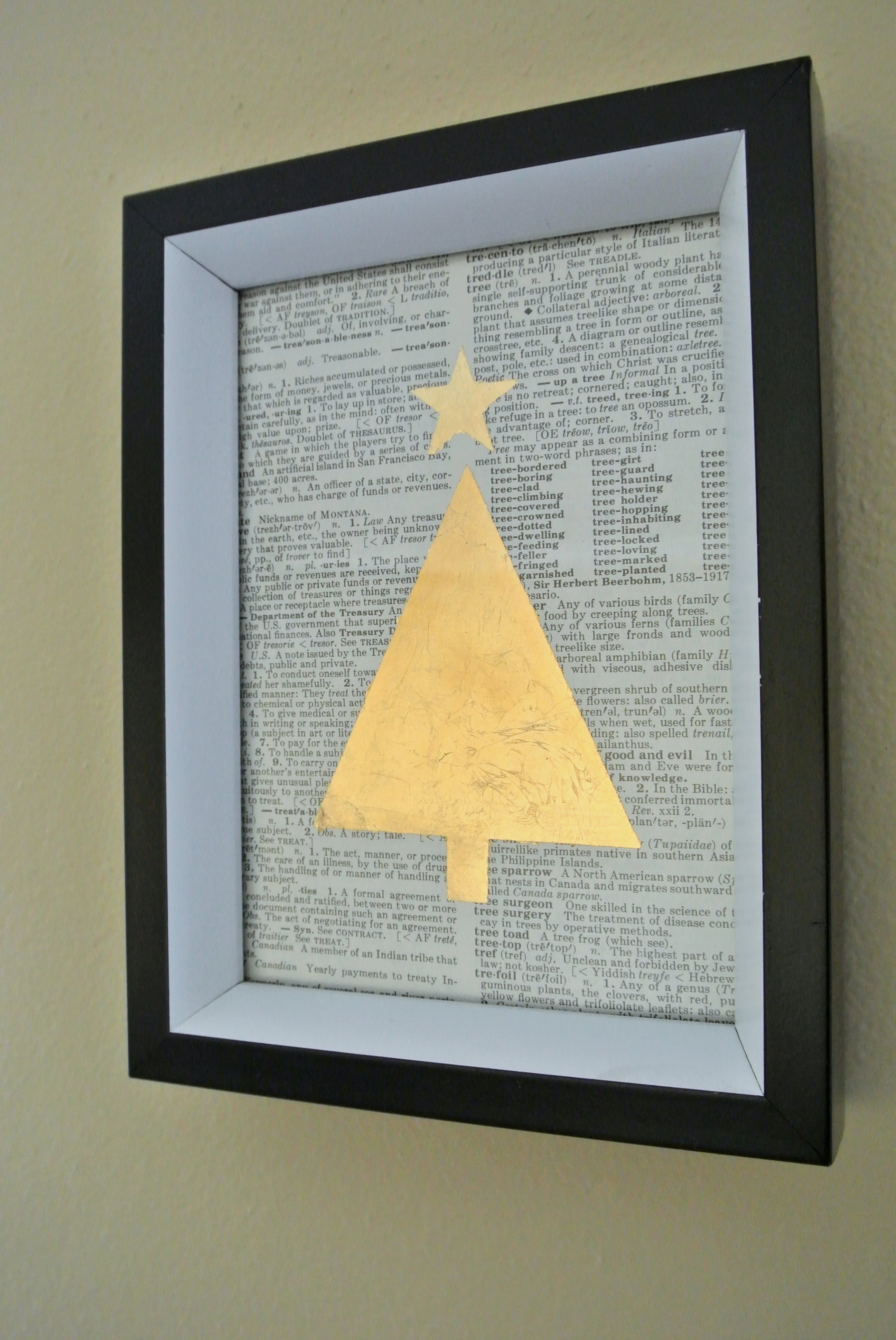 Remodelaholic | 4 Easy DIY Gold Prints for a Christmas Gallery Wall ...