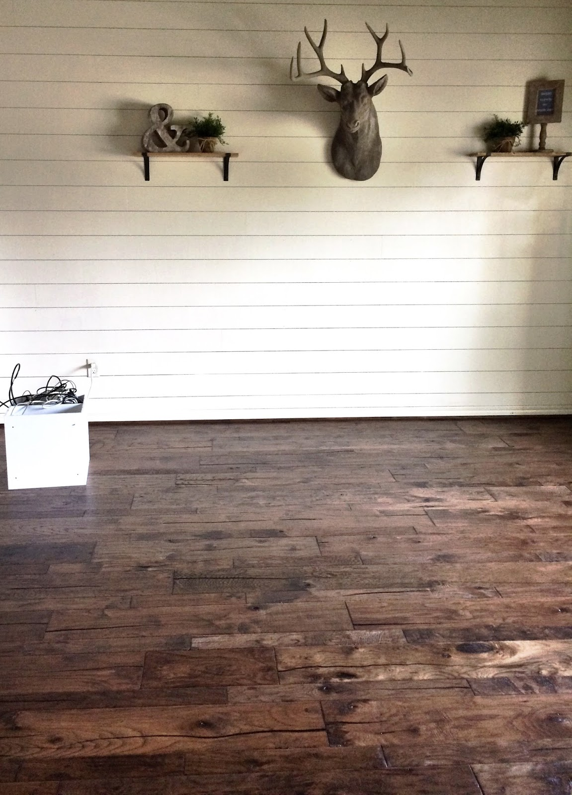 Den Paint Colors Remodelaholic How To Install A Shiplap Wall Rustic