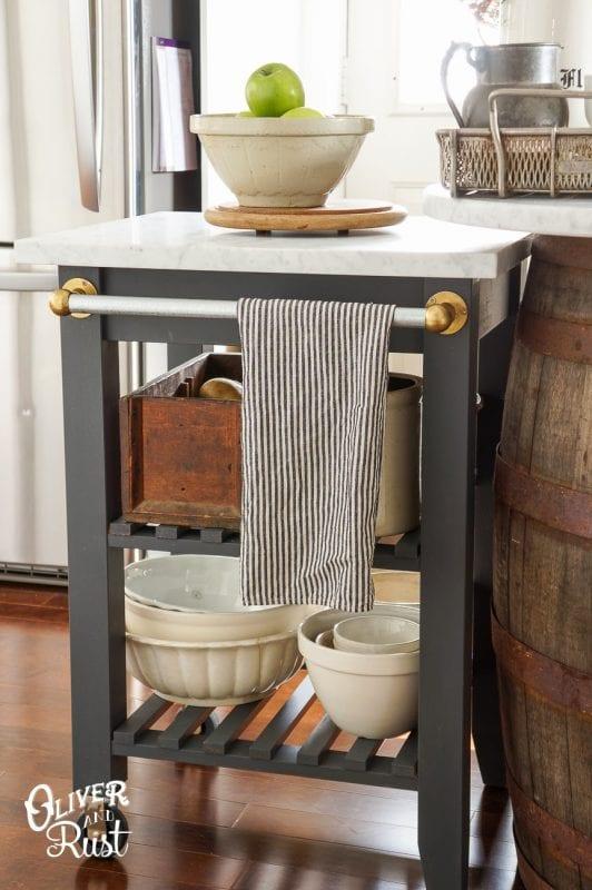 ikea hack kitchen bekvam kitchen cart