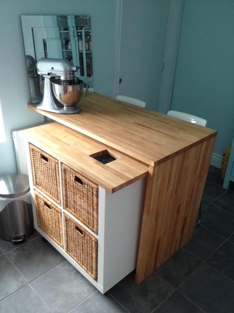 How To Attach Ikea Kitchen Cabinet Rails