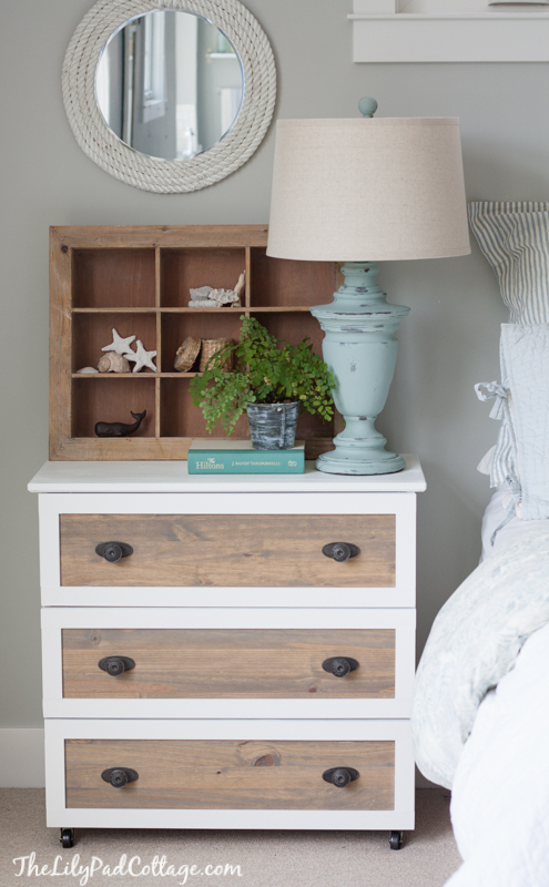 Remodelaholic 25 Ikea Tarva Chest Hacks