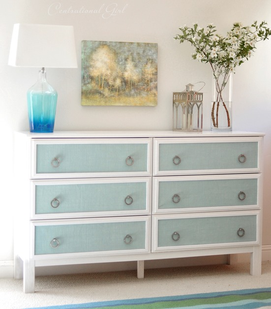 Remodelaholic 25 ikea tarva chest hacks for Bedroom dressers ikea