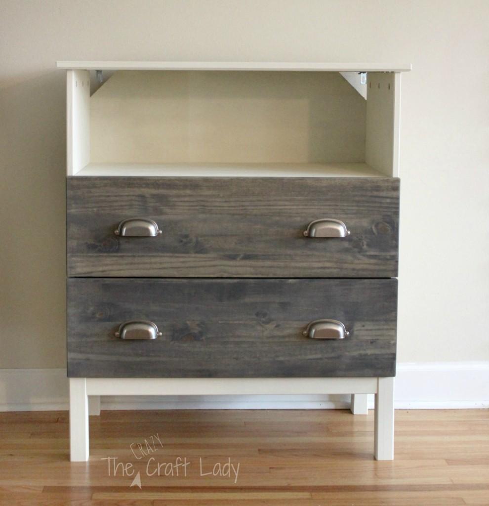 remodelaholic 25 ikea tarva chest hacks. Black Bedroom Furniture Sets. Home Design Ideas