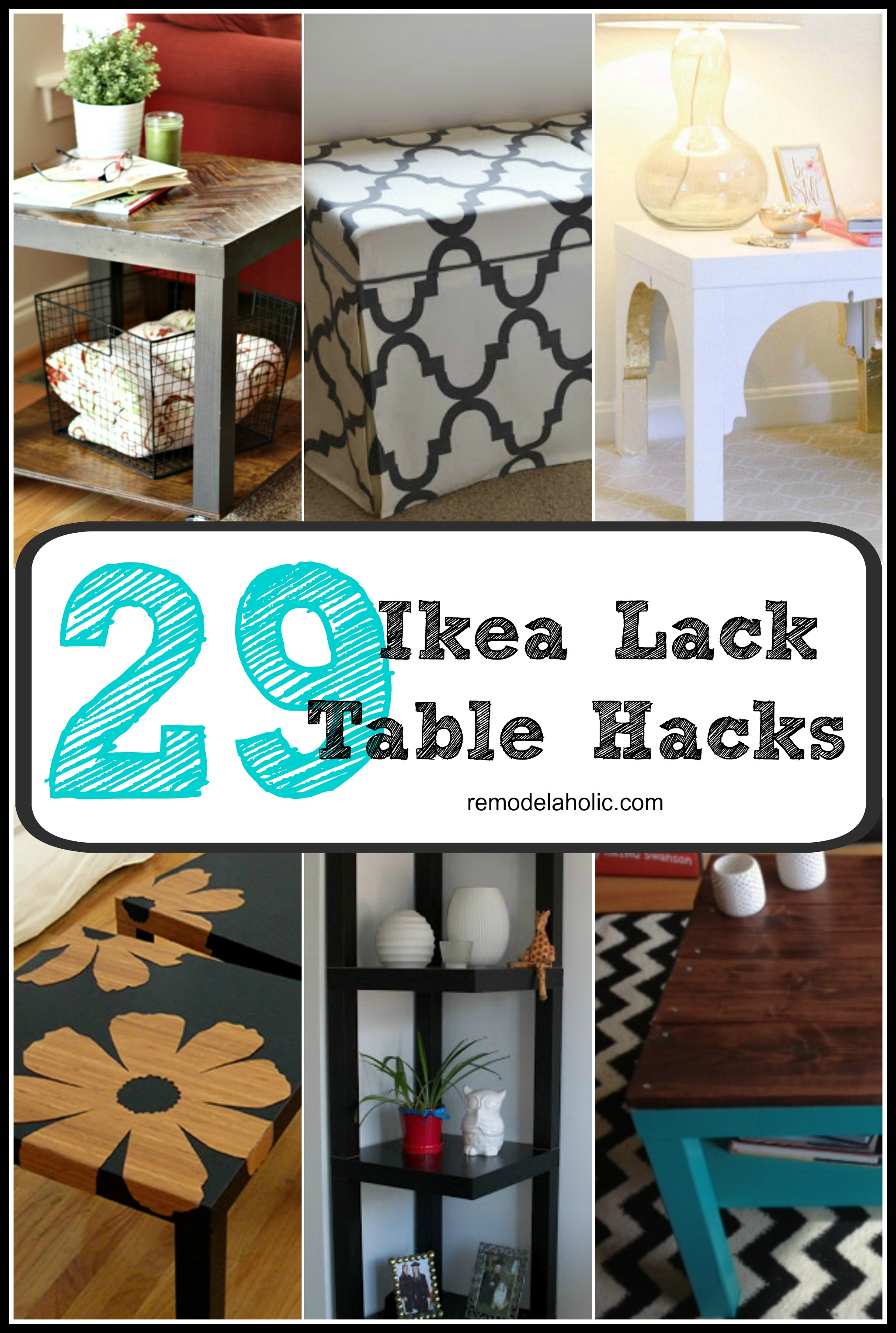 From Bargain to Beautiful 29 Stylish IKEA Lack Table Hacks