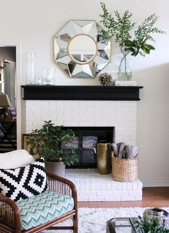 Lovely mantel arrangement!