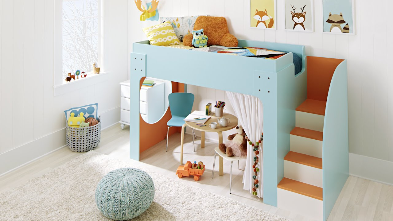 kids bunk bed twin maxresdefault remodelaholic how to build princess castle loft bed