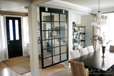 Remodelaholic 29 Creative Diy Room Dividers For Open