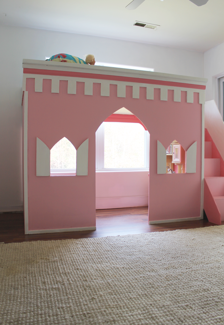 How To Build A Playhouse Loft Bed