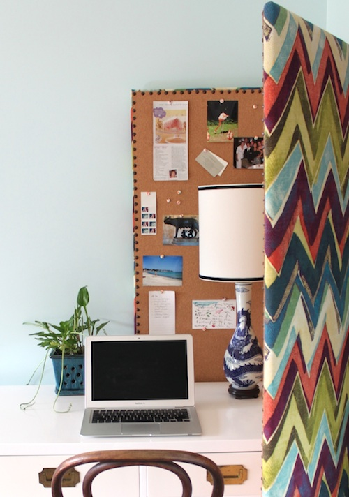Room Divider Fabric Bulletin Board