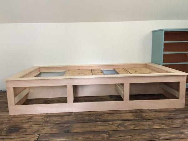 DIY built-in bed nook tutorial, Debi @Remodelaholic (5)