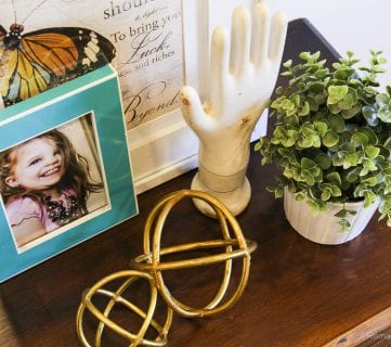 Styling My Dresser: Before and After