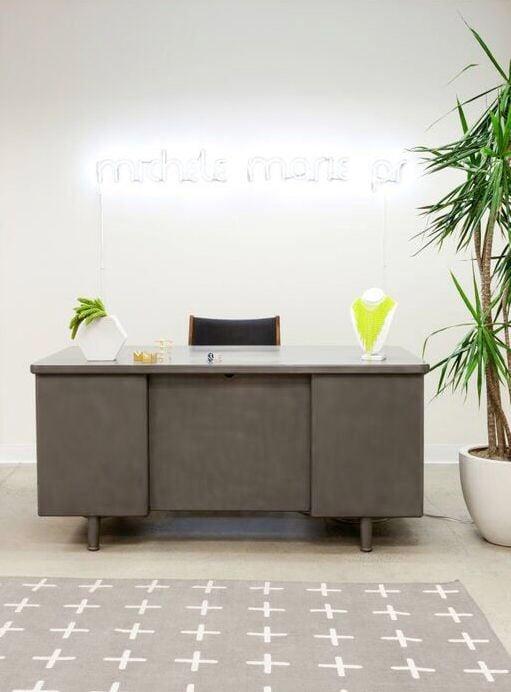 Homepolish Stefani Stein - Michele Marie PR office lobby