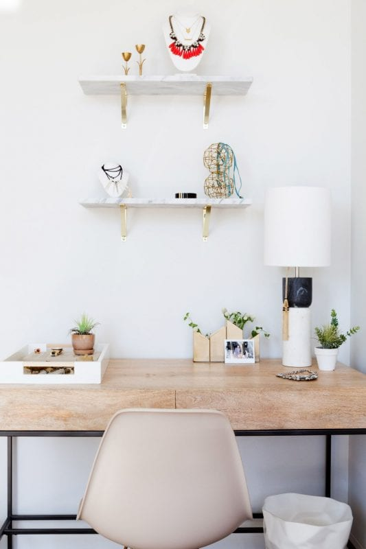 Homepolish Stefani Stein - desk area