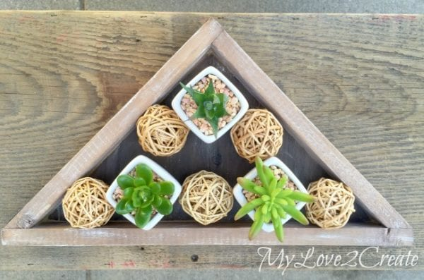 diy decorative triangle tray, Mylove2create