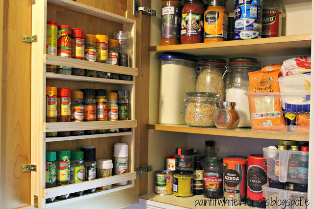 easy diy spice rack PaintItWhite