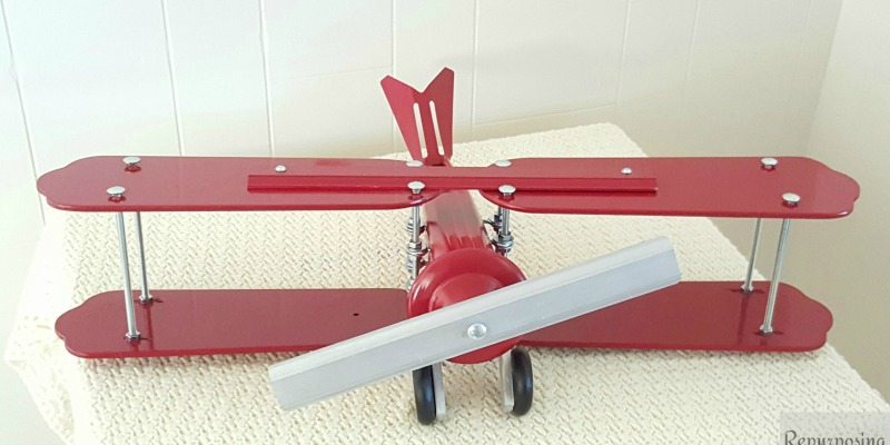 Airplane Fan Blades : Remodelaholic repurpose old ceiling fan blades into a