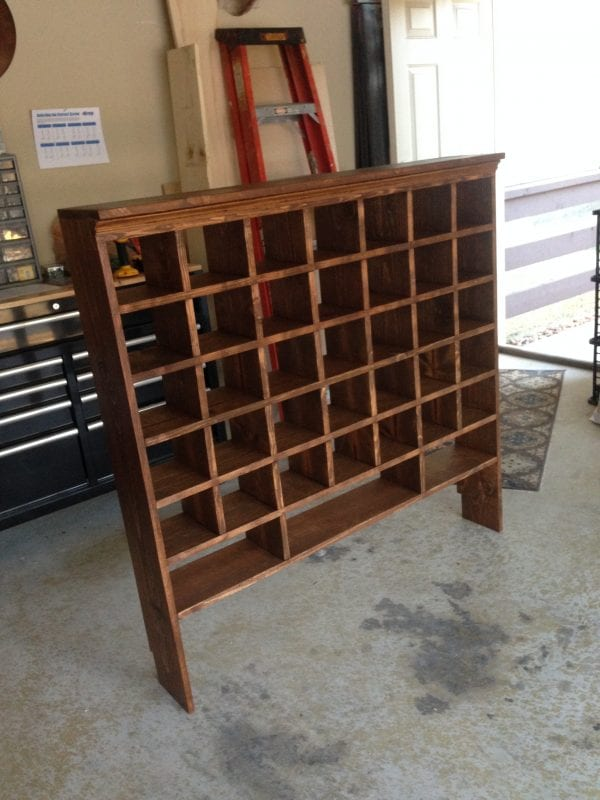 Finest How To Build A Vintage Style Mail Sorter Organize Shoes With Decorative