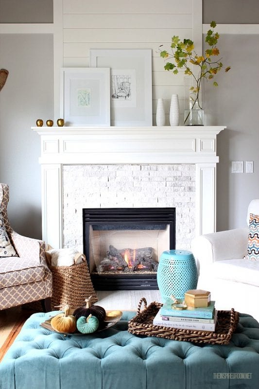 mantel the inspired room