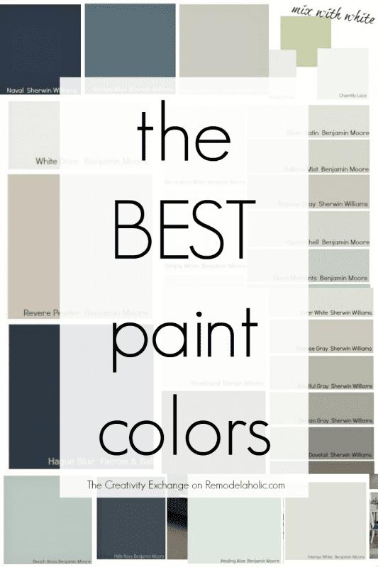 top paint colors 2015