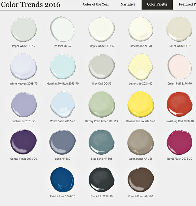 Popular Paint Colors 2017 remodelaholic | trends in paint colors for 2016