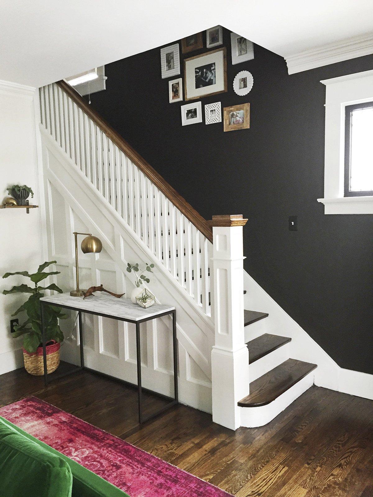 remodelaholic before after living room renovation. Black Bedroom Furniture Sets. Home Design Ideas