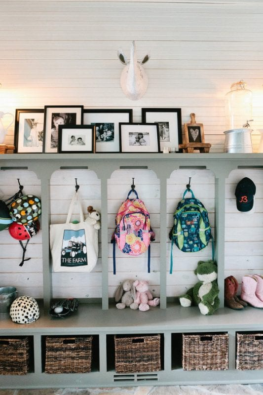 mudroom lockers and cubbies