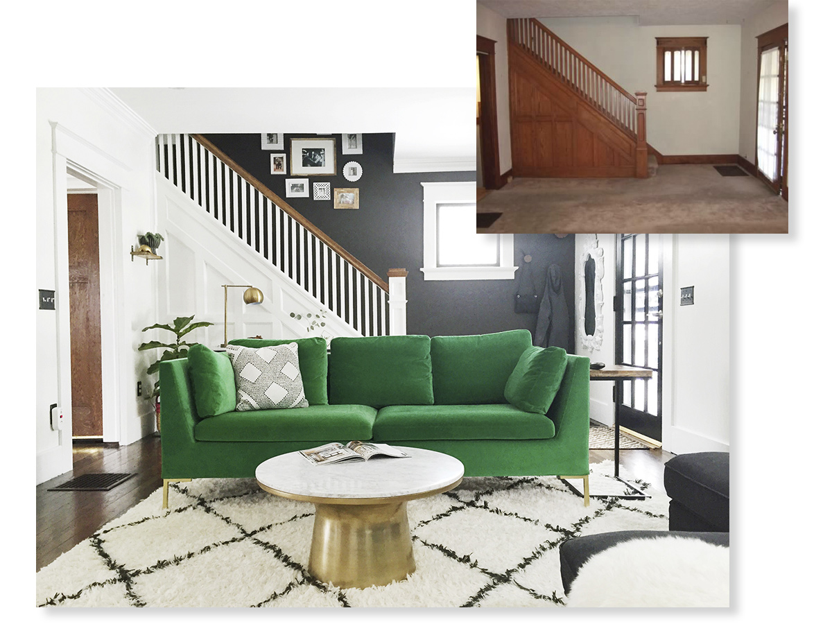 Living Room Renovation Before And After remodelaholic | before/after living room renovation