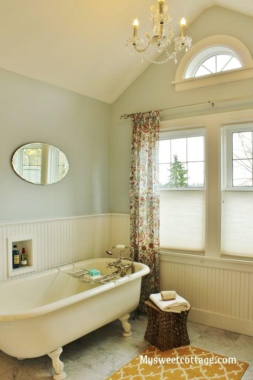 remodelaholic gorgeous 1920 39 s cottage master bathroom addition