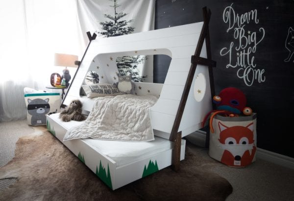 Amazing tent trundle bed in the cutest kids room ever Hello Bowsers