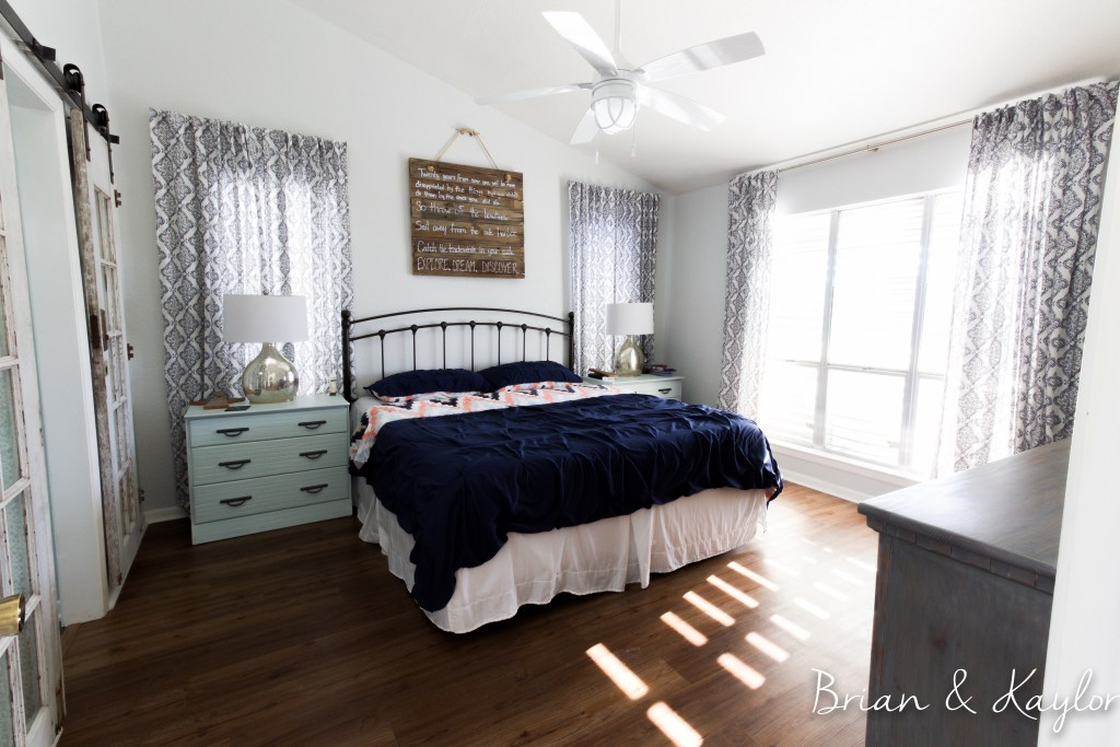 remodelaholic friday faves beautiful bedrooms and organizing diys. Black Bedroom Furniture Sets. Home Design Ideas