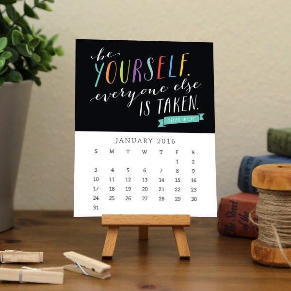 Calendar Images - Motivational 2016 - A23