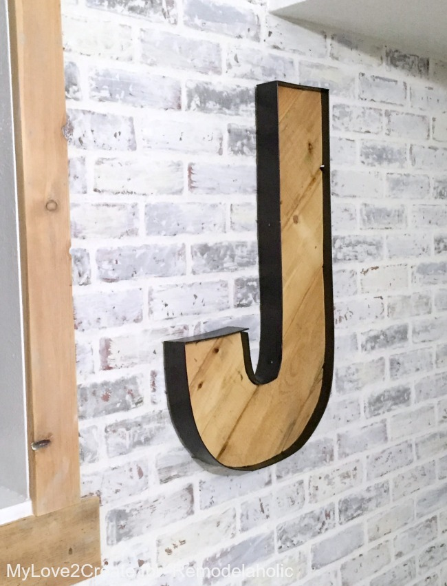 Large Metal Letters For Decorating Amazing Remodelaholic  Rustic Industrial Letters Made From Wood Pallets Review