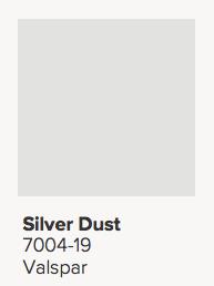 Valspar Silver Dust Paint Color