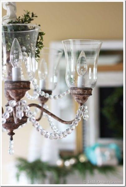 antique chandelier diy makeover